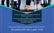 Konsultacje znaj swoje prawa, konferencja 25 kwietnia 2019 roku