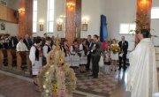 Dożynki parafialne w Udryczach